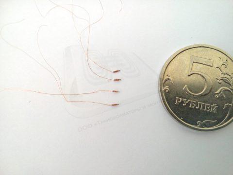 Миниатюрная катушка магнитного датчика
